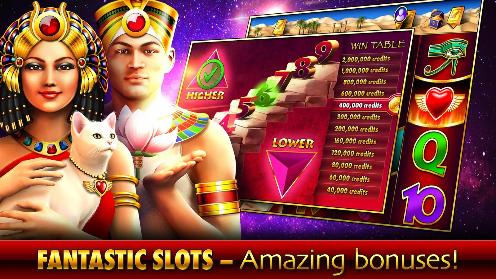 Slots - Pharaoh's Fire Screenshot 2