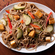 Sesame Noodle Salad with Tofu