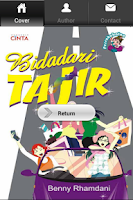 Screenshot of Novel Remaja Bidadari Tajir