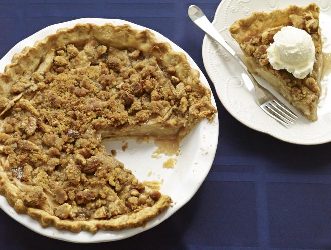 Scrumptious Dutch Apple Pie Recipe | Yummly