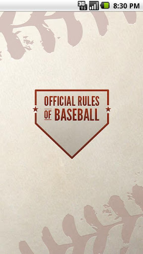 Official Rules of Baseball