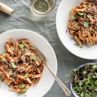 Penne with Za'atar Tomato Sauce & Parmesan
