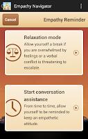 Screenshot of Empathy Navigator