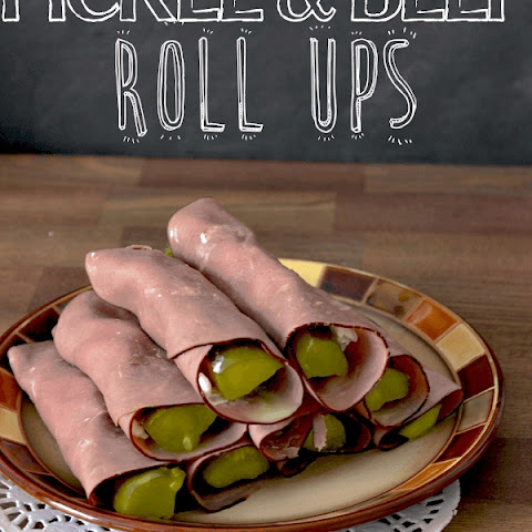 Pickle Beef Roll Ups