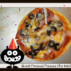 Quick Personal Pizzas for Kids