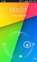 Screenshot of Go Locker Kit Kat theme
