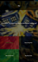 Screenshot of Doctor Who Quiz - Fantastic!