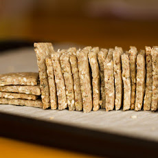 Easy Vegan & Gluten-Free Crackers