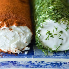 Goat Cheese with Fresh Dill and Paprika