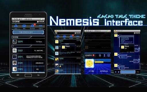 RX3 KakaoTalk Theme-NemesisUI