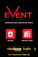 Screenshot of Event Cinemas