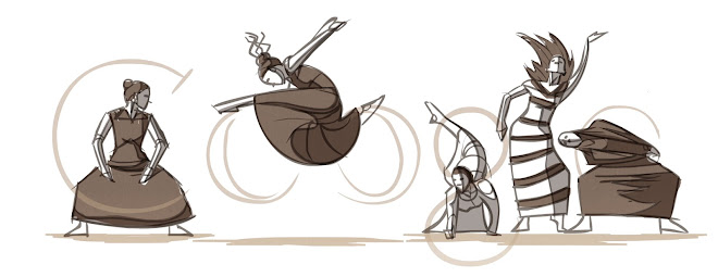 Martha Graham's 117th Birthday