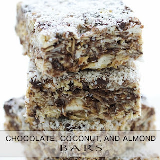 Coconut Chocolate and Almond Bar