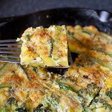 Potato and Broccolini Frittata