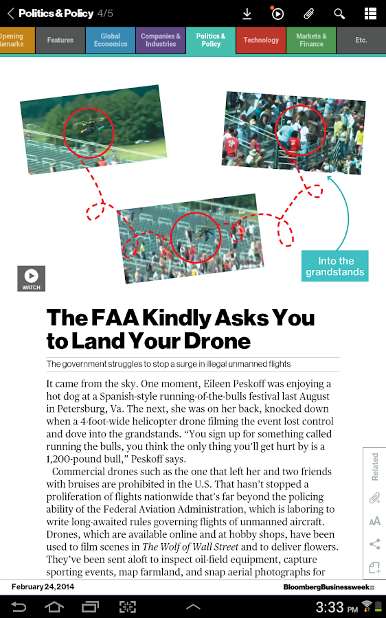 Bloomberg Businessweek+ Screenshot 8