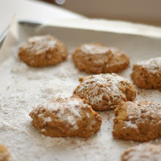 Whole Wheat Pumpkin Cookies