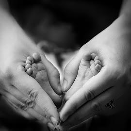 by Ron Williams - Babies & Children Hands & Feet