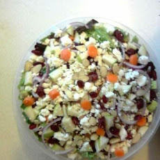 Tuscan Cranberry Almond Salad