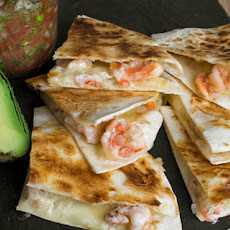 Tequila Shrimp and Asadero Quesadillas Recipe