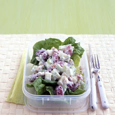 Waldorf Salad with Yogurt Dressing