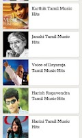 Screenshot of Tamil Music Hits