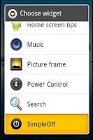 Screenshot of SimpleOff