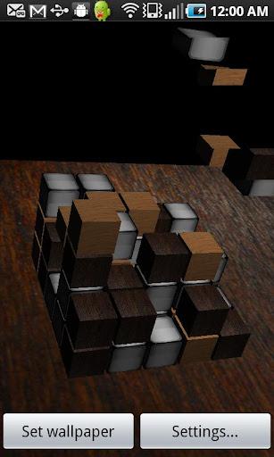 3D Live Wallpaper Dropbox Alph