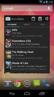 App TV Show Favs apk for kindle fire