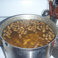 Green Jumbo Boiled Peanuts