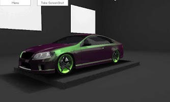 Screenshot of 3d Car Tuner