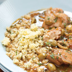Quick Moroccan Chicken with Green Olives