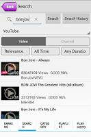 Screenshot of MusicClip - Video YouTube