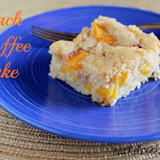 Peach-Spice Coffee Cake