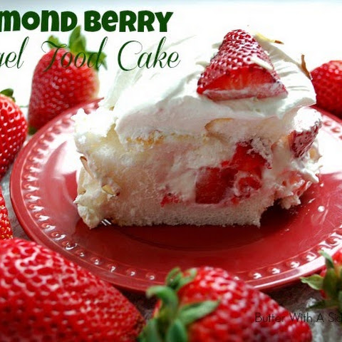ALMOND BERRY ANGEL FOOD CAKE
