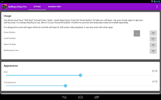 Screenshot of Softkeys Ninja