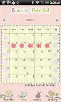 Screenshot of Simple Period