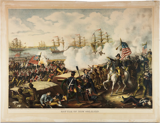 "In the Battle of New Orleans in 1815, General Andrew Jackson asked for ""volunteer slaves"" to build fortifications and defenses around New Orleans. Many were promised emancipation, though often this freedom never materialized.   In addition, Jackson called for ""Free Colored Inhabitants of Louisiana"" to join a segregated black regiment and receive the same bounty as white soldiers. As a result, two battalions of African American soldiers fought in the Battle of New Orleans. New York followed suit, recruiting enslaved as well as free men."