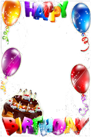 Screenshot of Birthday Frames