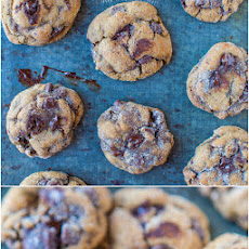 Molasses Triple Chocolate Cookies