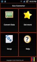 Screenshot of Geo Converter