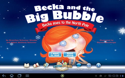 Becka North Pole StoryChimes - screenshot