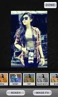 Screenshot of Pic Frames Bokeh