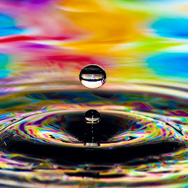 by Nick Wastie - Abstract Water Drops & Splashes ( water photos )