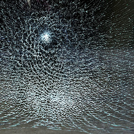 Broken glass by Vladimir Bogovac - Abstract Patterns ( office, abstract, broken, pattern, glass,  )