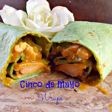 #WeekdaySupper Cinco de Mayo Wraps