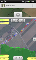 Screenshot of RouteTracker