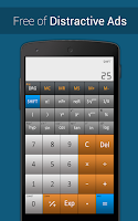 Screenshot of RealCalc-Scientific Calculator