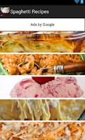Screenshot of Spaghetti Recipes