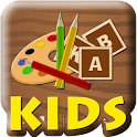 Kids puzzle game icon