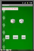 Screenshot of DiceGame